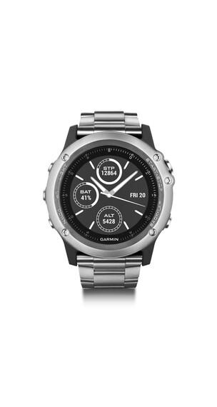 Garmin fenix 3 Saphir GPS Multisportuhr titanium